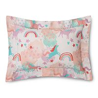 Lullaby Bedding Unicorn Oblong Throw Pillow