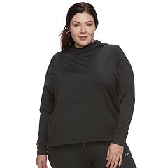 Plus Size Nike Funnel Neck Hoodie