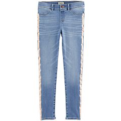 Girls 4-12 OshKosh B'gosh® Glittery Side-Stripe Jeans