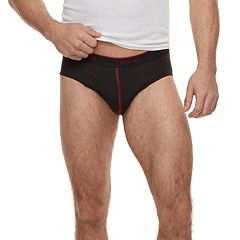 Men's Hanes 5-pack Ultimate Breathable Fresh IQ Briefs