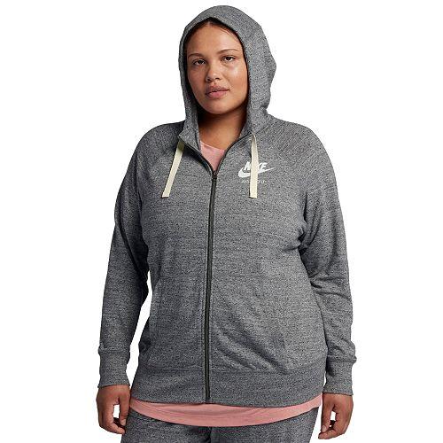 e18e6988df9 Plus Size Nike Full Zip Hoodie