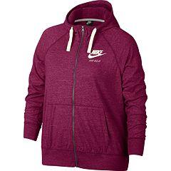 Plus Size Nike Full Zip Hoodie