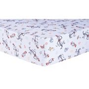 Trend Lab Dr. Seuss Classic Cat In the Hat Fitted Crib Sheet