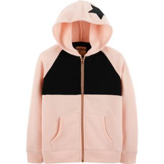Girls 4-12 OshKosh B'gosh® Colorblock Fleece Hoodie
