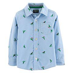 Toddler Boy OshKosh B'gosh® Dinosaurs Button Down Shirt