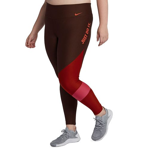 eafe955f5a6c4a Plus Size Nike Power Graphic Training Midrise Tights