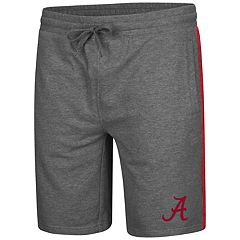 Men's Colosseum Alabama Crimson Tide Sledge II Terry Shorts
