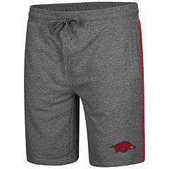 Men's Colosseum Arkansas Razorbacks Sledge II Terry Shorts