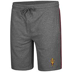 Men's Colosseum Arizona State Sun Devils Sledge II Terry Shorts
