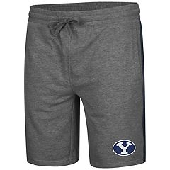 Men's Colosseum BYU Cougars Sledge II Terry Shorts