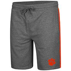 Men's Colosseum Clemson Tigers Sledge II Terry Shorts