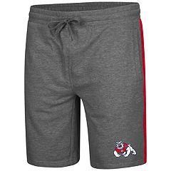 Men's Colosseum Fresno State Bulldogs Sledge II Terry Shorts