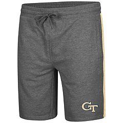 Men's Colosseum Georgia Tech Yellow Jackets Sledge II Terry Shorts