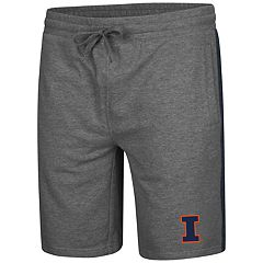 Men's Colosseum Illinois Fighting Illini Sledge II Terry Shorts