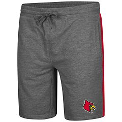 Men's Colosseum Louisville Cardinals Sledge II Terry Shorts