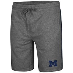 Men's Colosseum Michigan Wolverines Sledge II Terry Shorts
