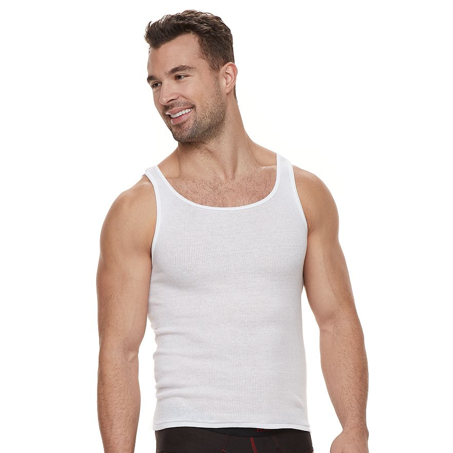 6f9c4a2e8741a5 Men s Hanes Ultimate 5-pack ComfortBlend A-Shirts