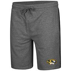 Men's Colosseum Missouri Tigers Sledge II Terry Shorts