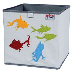 Trend Lab Dr. Seuss One Fish, Two Fish Storage Bin