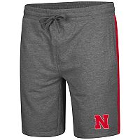 Men's Colosseum Nebraska Cornhuskers Sledge II Terry Shorts