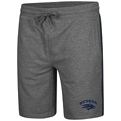 Men's Colosseum Nevada Wolf Pack Sledge II Terry Shorts