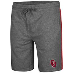Men's Colosseum Oklahoma Sooners Sledge II Terry Shorts