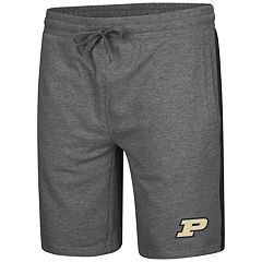 Men's Colosseum Purdue Boilermakers Sledge II Terry Shorts