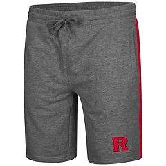 Men's Colosseum Rutgers Scarlet Knights Sledge II Terry Shorts