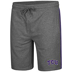 Men's Colosseum TCU Horned Frogs Sledge II Terry Shorts