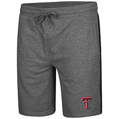 Men's Colosseum Texas Tech Red Raiders Sledge II Terry Shorts