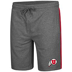 Men's Colosseum Utah Utes Sledge II Terry Shorts