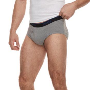 Men's Hanes 5-pack ComfortBlend Fresh IQ Boxer Briefs