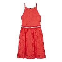 Girls 7-16 IZ Amy Byer Sequin Top & High Low Skirt Set