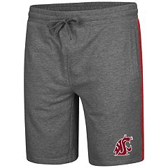 Men's Colosseum Washington State Cougars Sledge II Terry Shorts