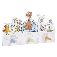 Trend Lab Dr. Seuss What Pet Should I Get? Peg Hook