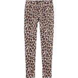 Girls 4-12 OshKosh B'gosh® Glittery Leopard Fleece Leggings
