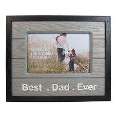 Celebrate Fun & Family Together 'Dad' 4' x 6' Frame