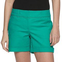 Women's Apt. 9® Torie Midrise Cuffed Shorts