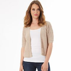Women's Apt. 9® Pointelle Shrug