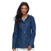 Women's Halitech Hooded Rubber Rain Jacket