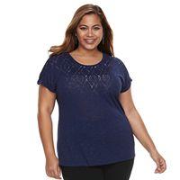 Plus Size Apt. 9® Embellished Top
