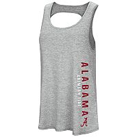 Women's Colosseum Alabama Crimson Tide Twisted Back Tank Top