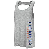 Women's Colosseum Florida Gators Twisted Back Tank Top