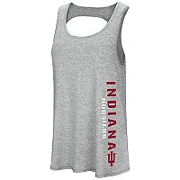Women's Colosseum Indiana Hoosiers Twisted Back Tank Top
