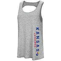 Women's Colosseum Kansas Jayhawks Twisted Back Tank Top