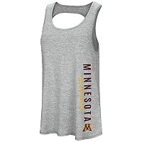 Women's Colosseum Minnesota Golden Gophers Twisted Back Tank Top