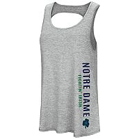Women's Colosseum Notre Dame Fighting Irish Twisted Back Tank Top