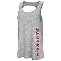 Women's Colosseum Oklahoma Sooners Twisted Back Tank Top