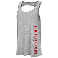 Women's Colosseum Rutgers Scarlet Knights Twisted Back Tank Top