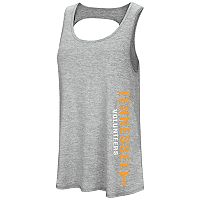 Women's Colosseum Tennessee Volunteers Twisted Back Tank Top
